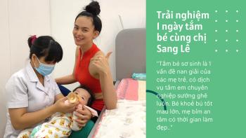 Sang Lê - Người đẹp được yêu thích nhất HHHV Việt Nam 2015 review dịch vụ sau sinh Momcare24h